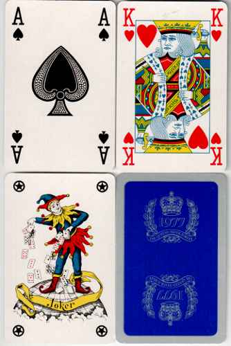 MILITARY & ROYALTY  PLAYING CARDS (11)