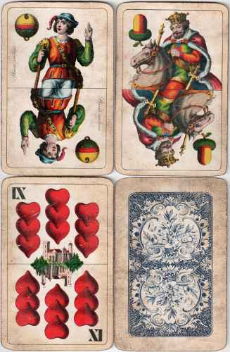 Antiquarian Playing Cards Pre 1920